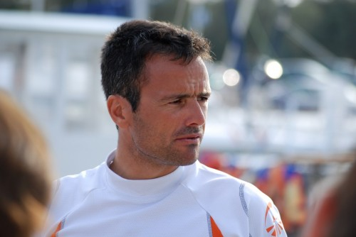 Franck Cammas / Trophée Clairefontaine @ La Grande Motte, France (2009)