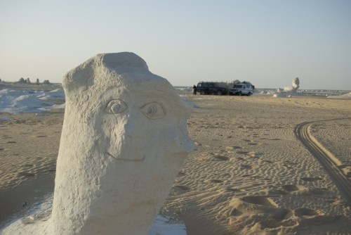 White Desert, Egypte (2009)