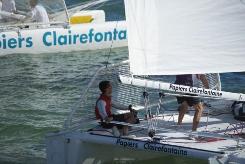 Franck Cammas / Trophée Clairefontaine @ La Grande Motte, France (2010)