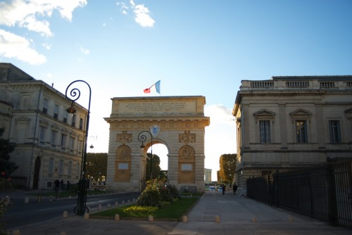 Arc de Triomphe @ Montpellier, France (20.10.2010)