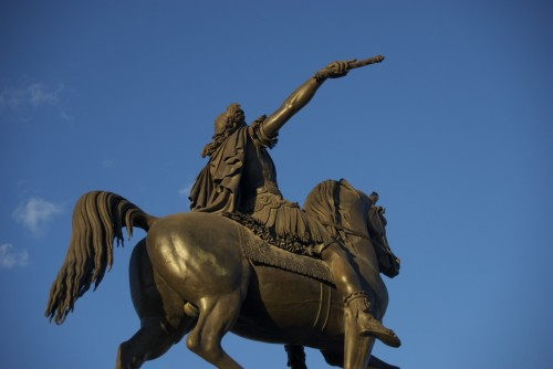 Statue de Louis XIV sur l'Esplanade du Peyrou @ Montpellier, France (20.10.2010)