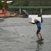 Wake-board lors du FISE, Montpellier (juin 2011)