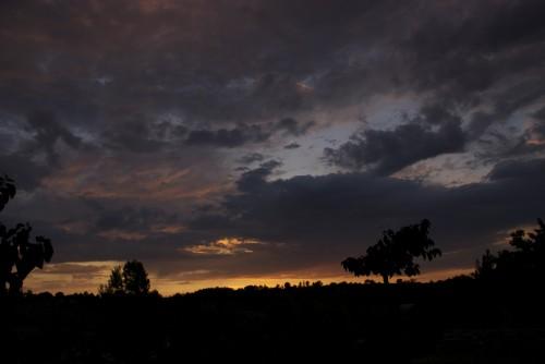 Coucher de soleil sur le Lac du Crès (Le Crès, Juin 2011)