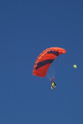 Parachutistes lors du meeting aérien @ Palavas-les-Flots (2011)