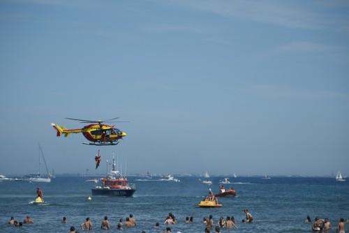 Sauveteurs en mer lors du meeting aérien @ Palavas-les-Flots (2011)