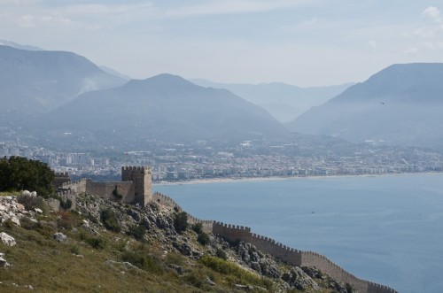Château d'Alanya, Alanya (Turquie - 13 avril 2013)