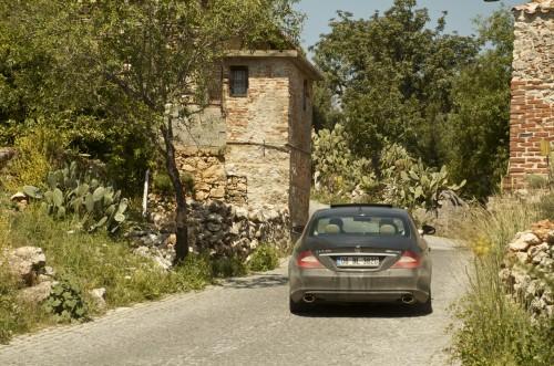 La route du château d'Alanya, Alanya (Turquie - 13 avril 2013)
